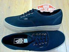13ce20dd4b24b0 Vans Authentic Mens Light Gum Black Canvas Skate Boat shoes Size 8 NWT