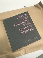 Alec Soth – I Know How Furiously Your Heart Is Beating, signed, first edition