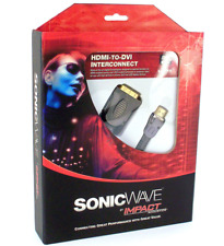 SonicWave By Impact HDMI To DVI InterConnect 6.5Ft