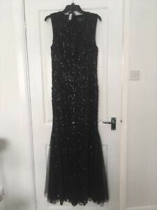 Vera Wang Sequin Evening Gown Size 10