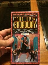 VHS:  RICHARD SIMMONS' TONE UP ON BROADWAY.....NEW
