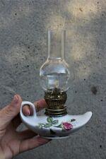 Vintage Porcelain Gas lamp lantern Vintage Oil Lamp Rustic Decor Vintage Gift