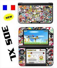SKIN STICKER AUTOCOLLANT DECO POUR NINTENDO 3DS XL - 3DSXL REF 191 STICKER BOMB