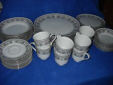 Empress ATHENS 182 china:  54 pc. dinnerware set, svce. for 8, w/serving pcs.