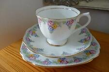 "Vintage Royal Albert ""Trellis"" pattern Trio all in Excellent Condition C 1930's"