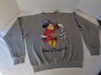 Walt Disney World 25th Anniversary. Gray Sweatshirt, Vintage, Medium