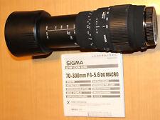 Sigma 70-300 mm F/4-5.6 DG MACRO Teleobjektiv für digitale CANON EOS