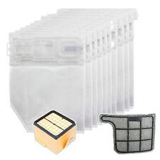 10 Bags & Pre / Post Motor Filter Kit VORWERK KOBOLD VK135 VK136 Hoover Vacuum