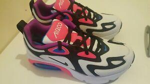 brand n nike air max 200  Trainers NIKE kids shoes size 5 uk ,38 eu,white pink