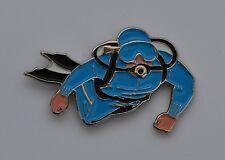 SCUBA Diver Quality Enamel Pin Badge