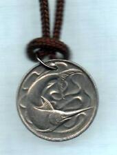 Authentic Singapore Sword Fish Coin Pendant 8