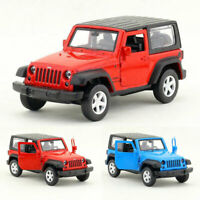 Jeep Wrangler Off-road 1:42 Model Car Metal Diecast Toy Kids Collection Gift