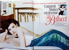 MONICA BELLUCCI => 3 pages 1997 FRENCH CLIPPING !!!