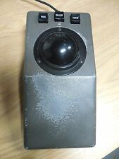 Measurement Systems 6817506 xcl-25c Desktop Track Ball Mouse 9 Pin Serial Metal