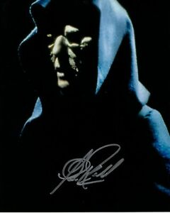 CLIVE REVILL signed Autogramm 20x25cm STAR WARS In Person autograph PALPATINE