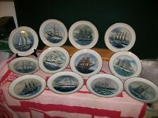 The Complete Official Tall Ships Collection 12 Plates from the Danbury Mint LE