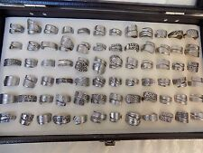 Spoon Ring  cool designs lot 10  resale Hand crafted wholesale stainless steel