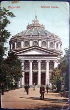 ROMANIA~1906 BUCURESTI (BUCHAREST)  ATHENEUL ROMAN ~ Romanian Athaneum