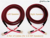 S01 (2m 6.5ft) --- Canare 4S12F Star Quad Hi-End 13awg Speaker Cable (2.8mm²x4)