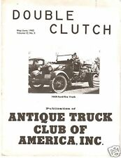 1982 Double Clutch Magazine, Macungie show photos, MACK Truck Museum