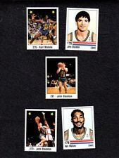1988 Spanish Panini Utah Jazz mint set~rookie John Stockton (3)~Karl Malone (2)+