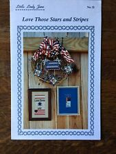 Little Lindy Jane #11 Love Those Stars And Stripes Chart NEW