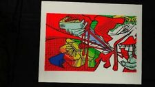 ORIGINAL SERIGRAPH by USHIO SHINOHARA PENCIL SIGNED & NO.