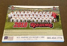 2018 AAA SGA Rochester Red Wings team photo picture rookie Aaron Slegers