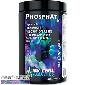 Brightwell Aquatics PhosphatR 1000mL Regenerable Phosphate Adsorption Resin