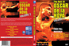 BEST OF OSCAR DE LA HOYA VOL.2 DVD HERNANDEZ, LEIJA & TYSON BRAND NEW BOXING