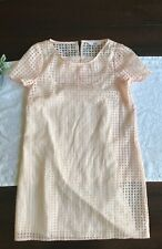 Lulus Bb Dakota Jack Light Pink Peach Short Sheer Dress Cute Summer Xs Designer