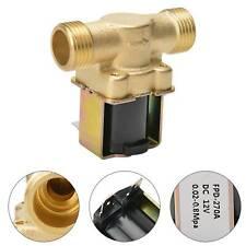 """N/C Magnetventil DC 12V Elektrisch Wasserventil G 1/2"""" für Wasser Einlass DE"""