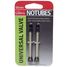 Stans NoTubes Universal 55mm Tubeless Valve Stem - Pair - AS0096