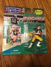 1999-00 BRETT FAVRE / Packers STARTING LINEUP FIGURE / Hasbro