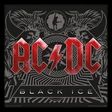 AC/DC - Black Ice - Framed Album Cover Print ACPPR48061