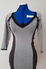 Karen Millen Work to Evening Slinky Jersey Dress Size 1