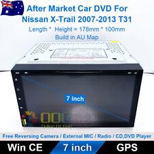 "7"" Car DVD GPS Navigation Head Unit Stereo For Nissan X-Trail 2007-2013 T31"
