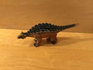 Toy Major Trading Co. Ankylosaurus. Soft Rubber Dinosaur Figure, Pre Owned.