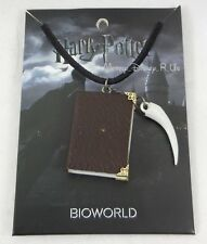 New Harry Potter Journal Diary With Claw Pendant Black Cord Necklace