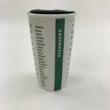 Starbucks collectible Word Search Double Wall ceramic tumbler mug 12oz