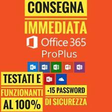 Microsoft Office 365/2016/2019 Licenza vita 5 dispositi✔️5TB Onedrive✔️+ OMAGGIO