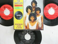 LOT OF 4 ' THE SHIRELLES ' HIT 45's+1P(Copy)[Everybody Loves A Lover] 50's&60's!