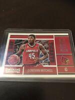 Panini Contenders Donovan Mitchell Base RC Louisville Jazz 2017