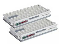 2 Pack Miele SF-HA 50 Hepa Airclean Filter with Timestrip For S4/S5/S6/S8 C2-C3