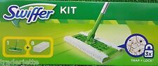 SWIFFER STARTERSET Bodenwischer, Stiel + 8 Tücher komplettes Reinigungssystem