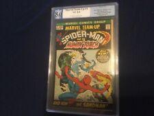 MARVEL TEAM UP 1 8.0 GRADED SPIDER-MAN! NOT CGC