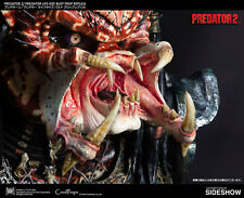 SIDESHOW COOLPROPS PREDATOR 2 LIFE-SIZE BUST PROP REPLICA STATUE FIGURE