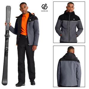 Dare 2B Mens Cohere Waterproof Warm Breathable Zip Up Ski Jacket Outdoor Coat