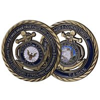 U.S. Navy Core Values USN Commemorative Challenge Coin Naval Collectible Sailor