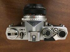 Olympus OM-1 35mm SLR Camera F.Zuiko Auto-S 50mm 1:1.8 Prime Lens - For parts